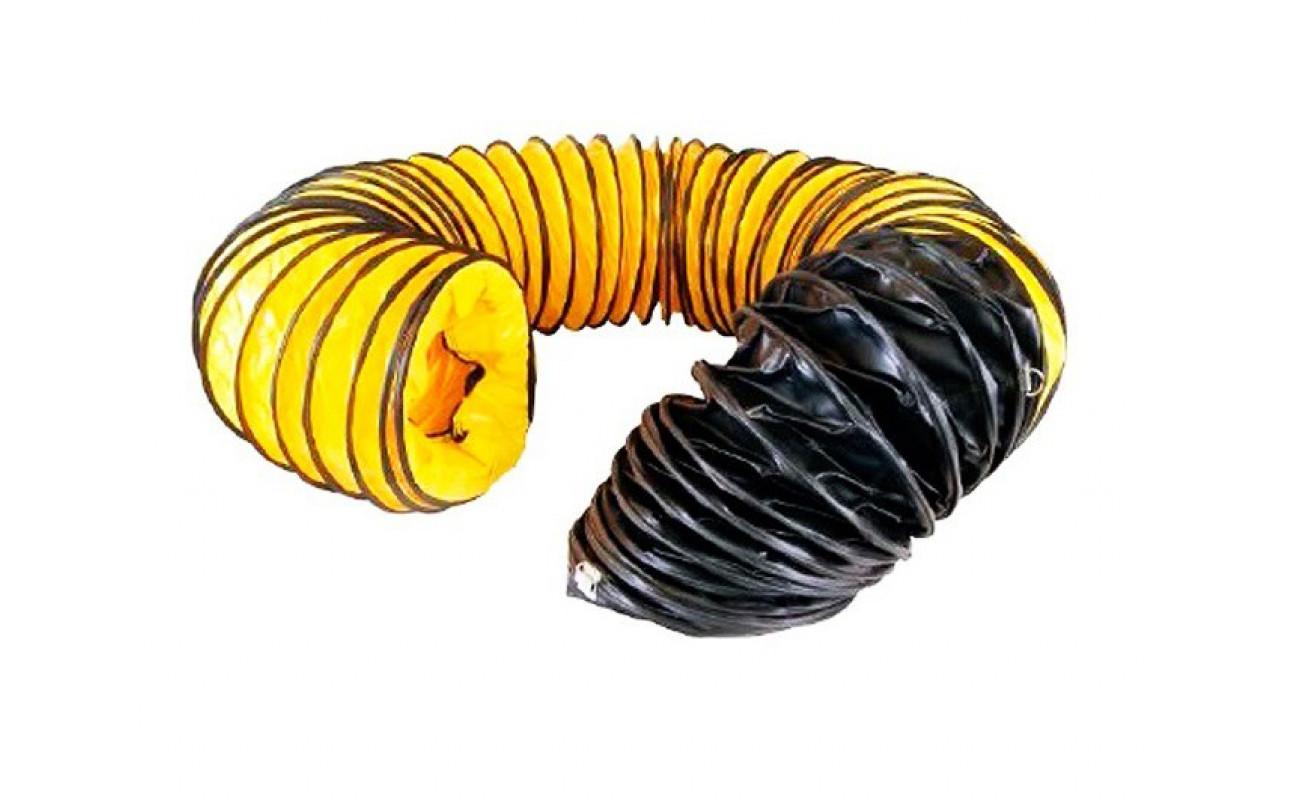 Гибкий шланг MASTER (желто-черный) D407, L7600