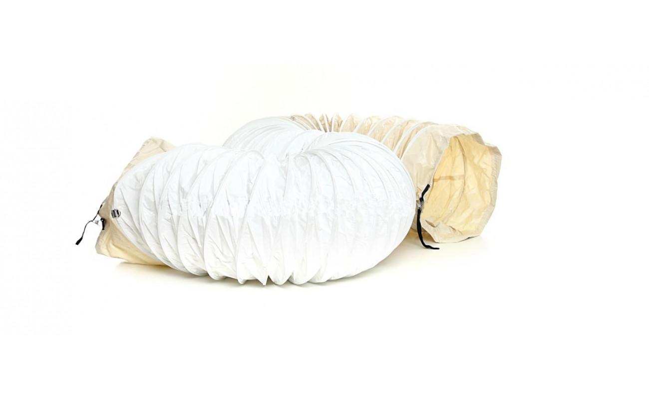 Гибкий шланг (белый) MASTER 425 мм X 760 см + сумка + ремни