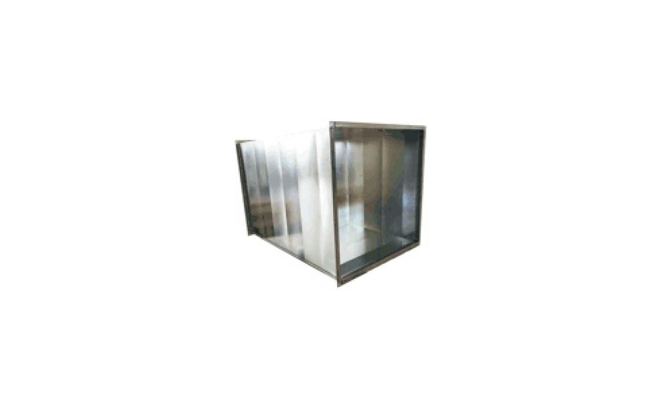 Вентиляционный короб MASTER 650x650, L=1500