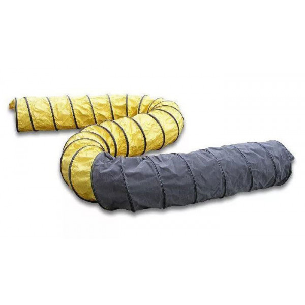 Гибкий шланг (желто-черный) 7.6м-340мм MASTER
